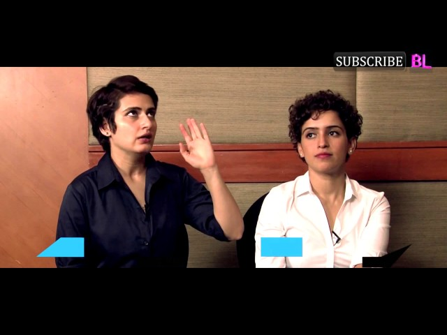 EXCLUSIVE | Fatima Sana Shaikh and Sanya Malhotra get CANDID about Aamir Khan, Dangal and much more