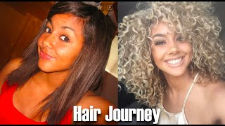 Hair Journey | Healthy, Curly, Blonde Hair
