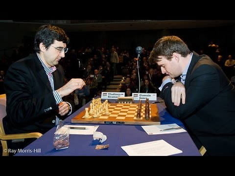 Zukertort Opening (A04) : Vladimir Kramnik vs Gawain Jones - London Classic (2012) (Chessworld.net)