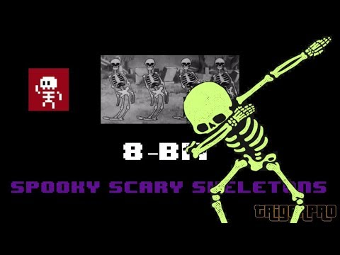 [ 8-BIT / Chiptune ] SPOOKY SCARY SKELETONS REMIX | Halloween , scary