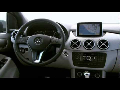 New Mercedes-Benz B Class 2012 Interior