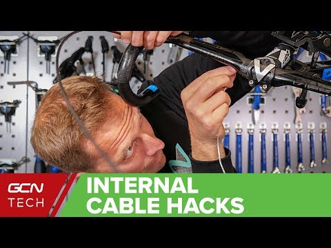Internal Bike Cable Hacks   How To Replace Internal Brake & Gear Cables