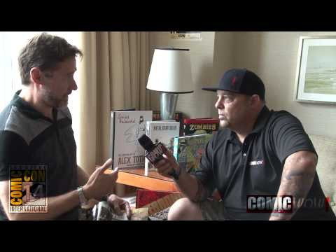 SDCC 14 Ted Adams IDW Publishing- ComicWow! Interview