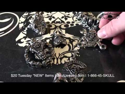 $20 Tuesday Skull Jewelry Sale Items