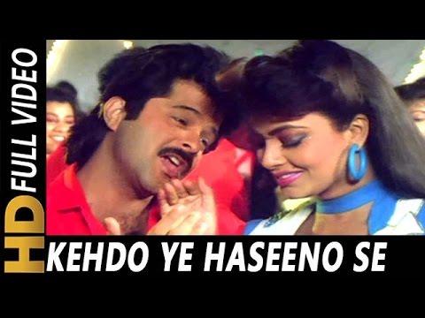 Kehdo Ye Haseeno Se | Kumar Sanu, Asha Bhosle, Anwar, Sadhana Sargam | Kala Bazaar 1989 Songs |