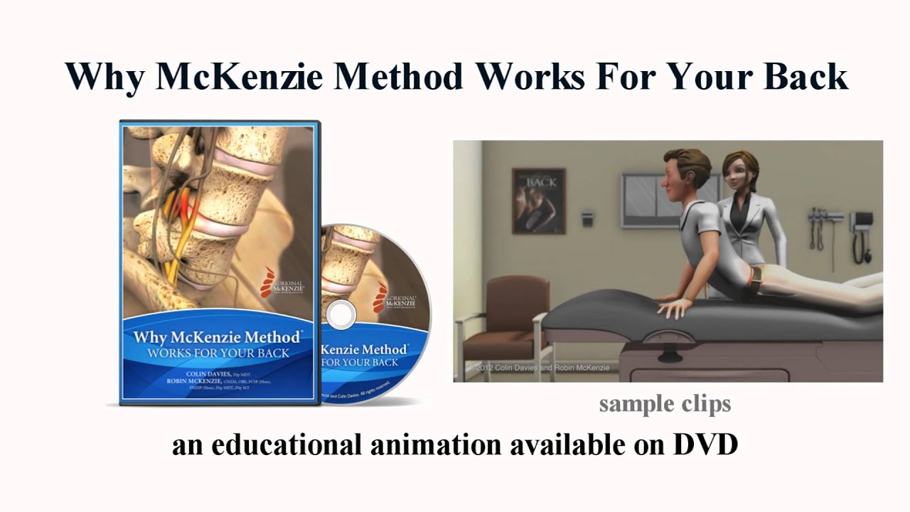 Why McKenzie Method® Works for Your Back - the trailer ...