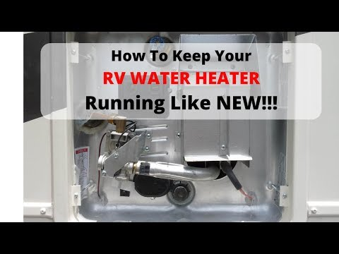 Your RV Water Heater Anode Rod Replacement - DIY!!!