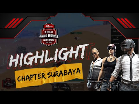 HIGHLIGHT SKOR INTERCITY PUBGM CHAPTER SURABAYA