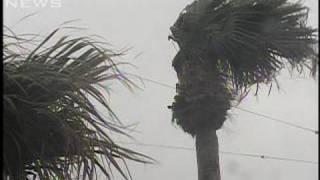 北上中の台風20号 あす未明に伊豆諸島に最接近(09/10/26)
