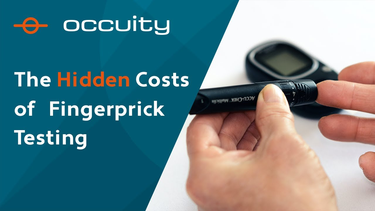 What are the hidden costs of finger stick tests?