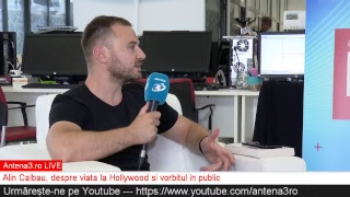 Baixar Antena3.ro LIVE cu Maria Coman - Viata la Hollywood si vorbitul in public