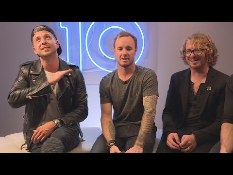 One Republic watch 'quilting' shows in their spare time!