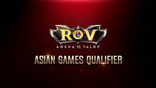 RoV Asian Games Qualifier EP1 - Thailand vs Philipines