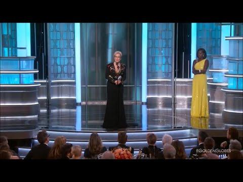 Viola Davis introduces Meryl Streep at Golden Globes 2017