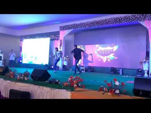 ECE AbhiRam's duet song in IMPULSE2K17 SriInduCollege