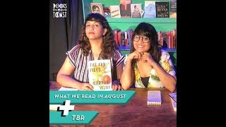 What We Read in August + On our TBR