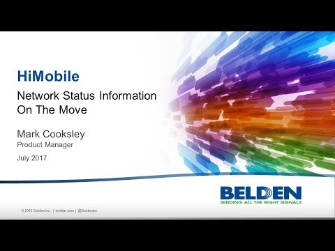 HiMobile Client for Industrial HiVision - YouTube