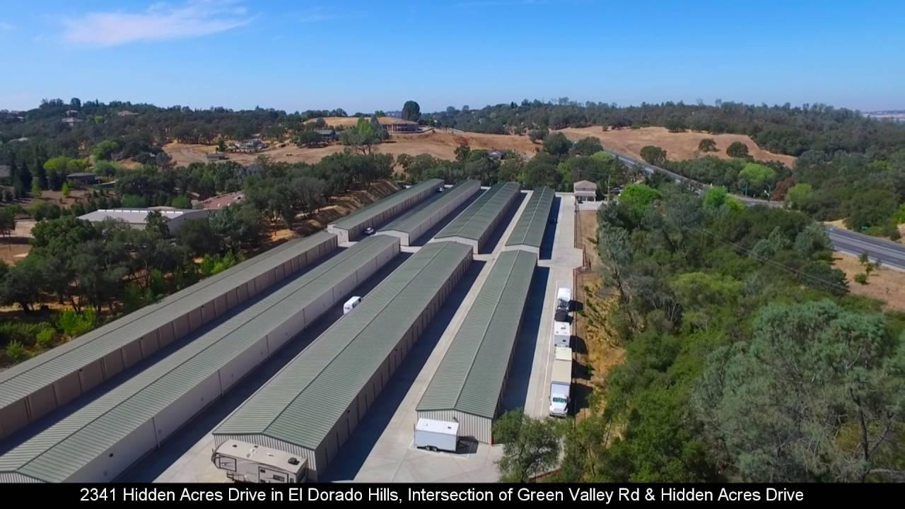 Wonderful Green Valley Road Self Storage (El Dorado Hills, California) Drone Video