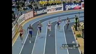 When indoor athletics goes wrong 2 - 2000 EAA European Indoor Championships 400m semi final