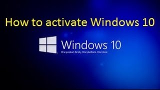 How to Activate Windows 10 easily step by step | 100% full activation
