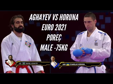 Final Male Kumite -75Kg (Moscow 2019)