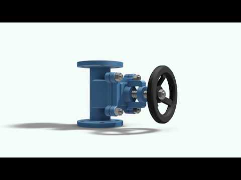 Globe Valve: Free 3D CAD Model For Autodesk Inventor, Solidworks And Autocad