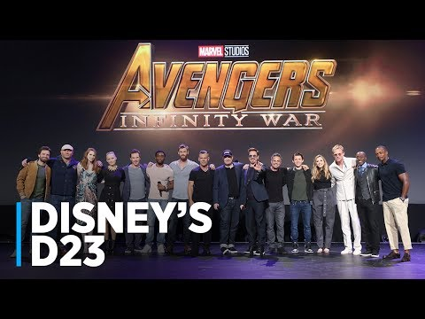 Disney Live-Action Movies Presentation at D23 2017