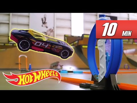 Epic Tracks in Crazy Places | Hot Wheels Unlimited: Track Builder Edition | Hot Wheels