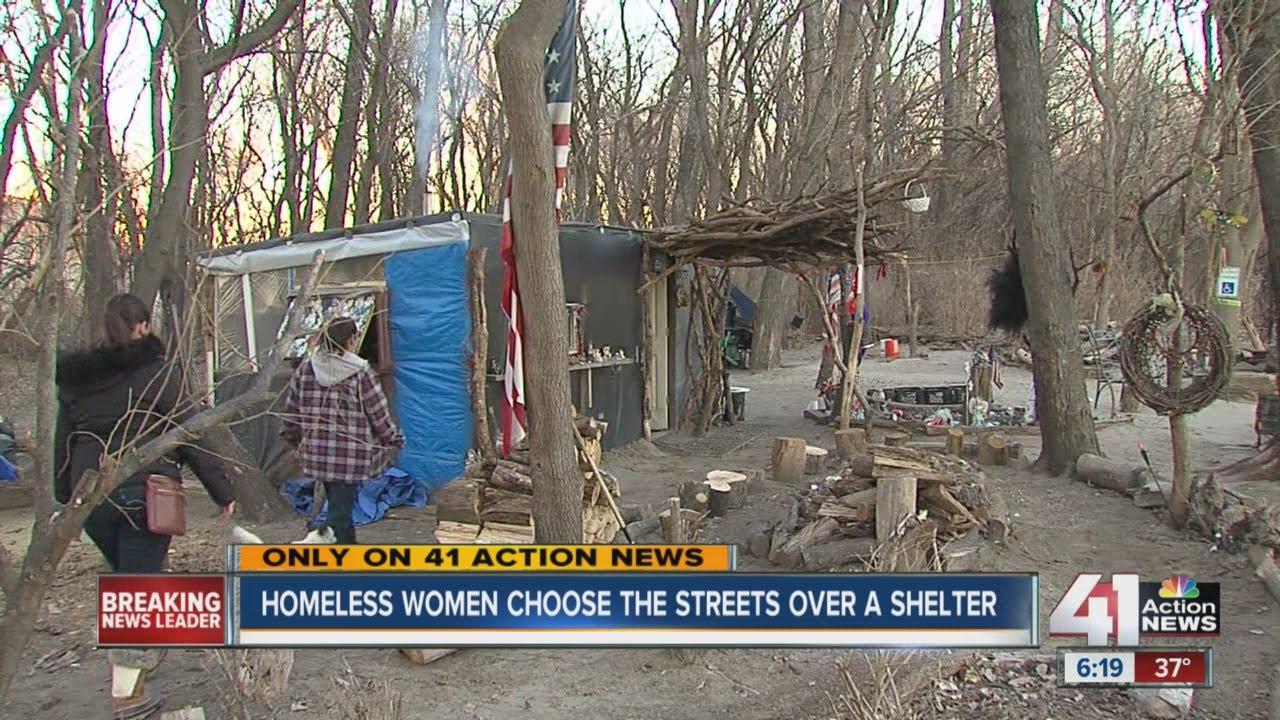 Homeless women choose streets over shelter
