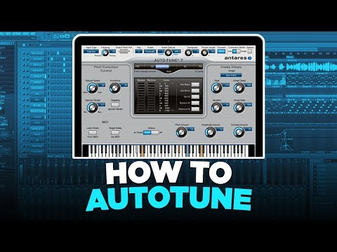 HOW TO USE AUTOTUNE THE RIGHT WAY AND SOUND LIKE YOUR FAVORITE RAPPERS