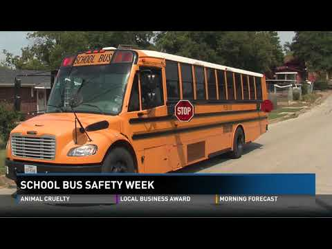 School Bus Safety Week Means More Police Watching Buses to Catch Law Breakers