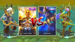 Gambar cover Ultimate Martis Skin Comparison | Epic VS Zodiac | God of War VS Capricorn