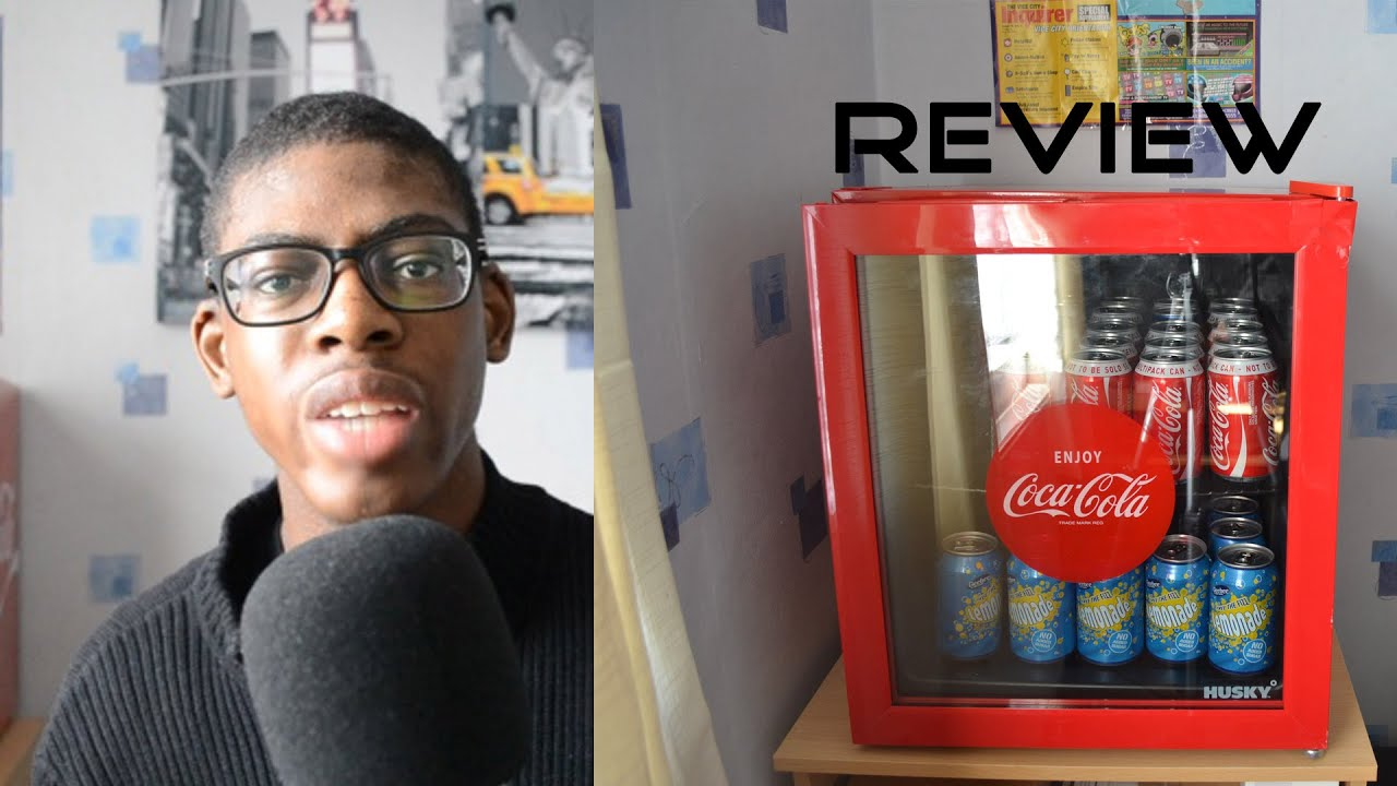 Husky Coca-Cola Fridge Review - YouTube