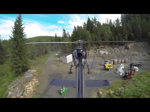 Helicopter Sling Load Operations Norway - WorkGoesPro3.0