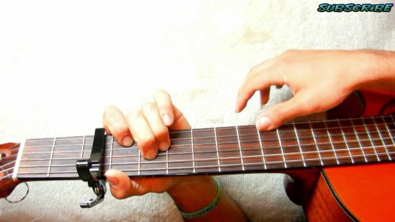 How To Play As Long As You Love Me Justin Bieber Guitar Tutorial