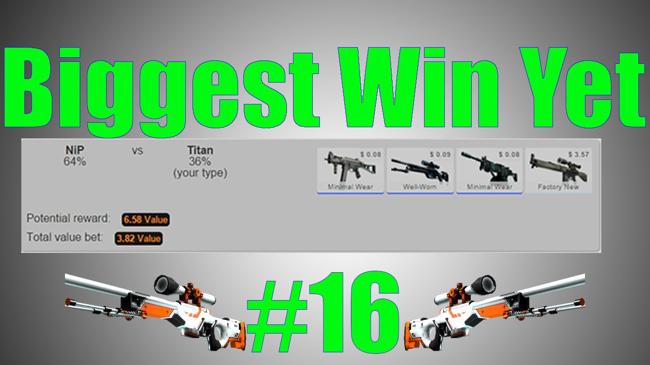 Cs go betting biggest win how to earn bitcoins quickly