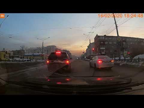 Сбил ребенка на пешеходном переходе Новокузнецк 16.02.2020