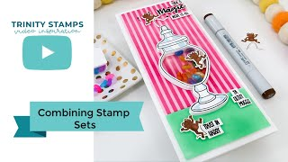 Combining Stamp Sets For Unique Handmade Cards