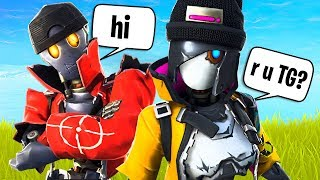 Random Duos w/ New Robot Skins! (Fortnite Battle Royale)
