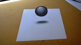 Como fazer desenho com efeito 3D simples