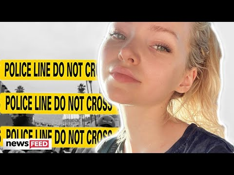 Dove Cameron &39;TRAPPED&39; By Police During Protest
