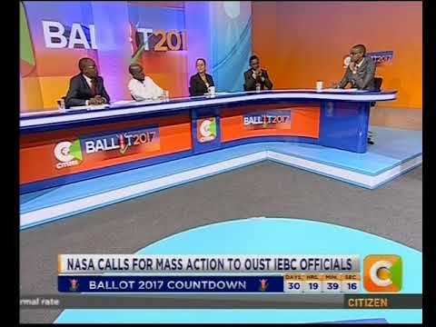 citizen tv Extra: NASA calls for mass action to oust IEBC officials