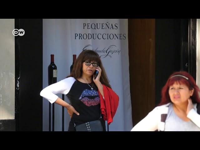 Robo de celulares en Argentina