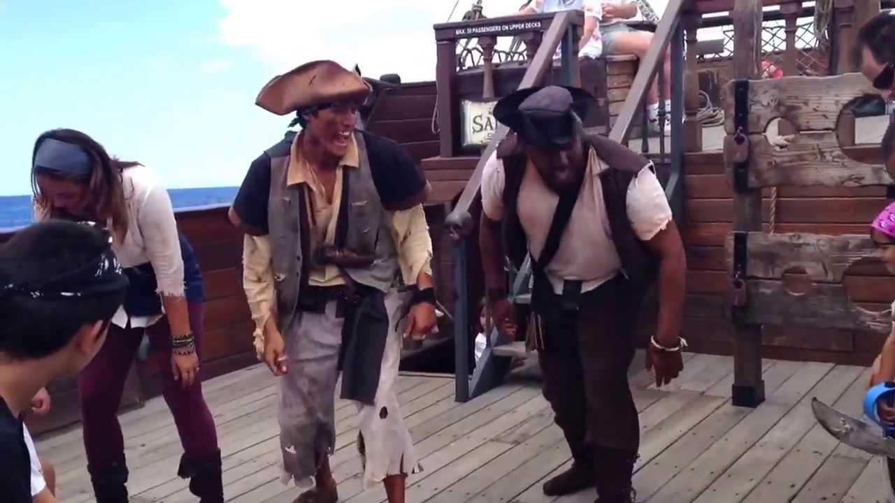 Hawaii Pirate Ship Adventures Dancing The Pirate Jig YouTube - Pirate ship cruise hawaii
