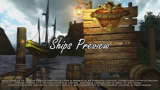Age of Pirates: Caribbean Tales - Historical Immersion Mod v5 Ship Preview