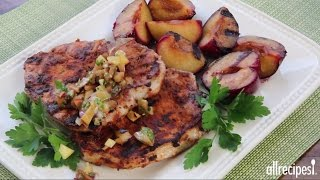 Pork Chop Recipes - How to Make Smoky Grilled Pork Chops