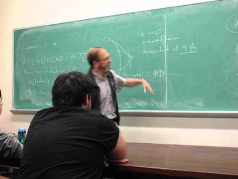 Poncelet's theorem - a talk by Prof Joe Harris