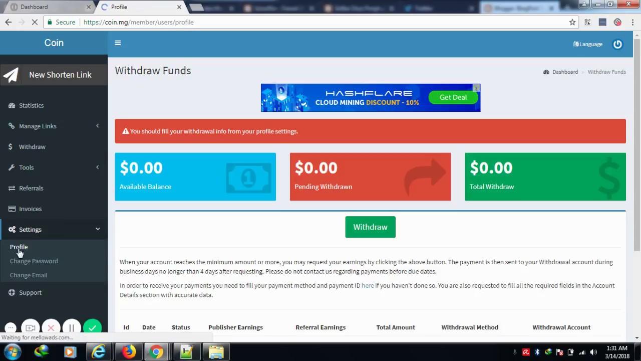 Best Link Shrink: come fare soldi cogli url shortener