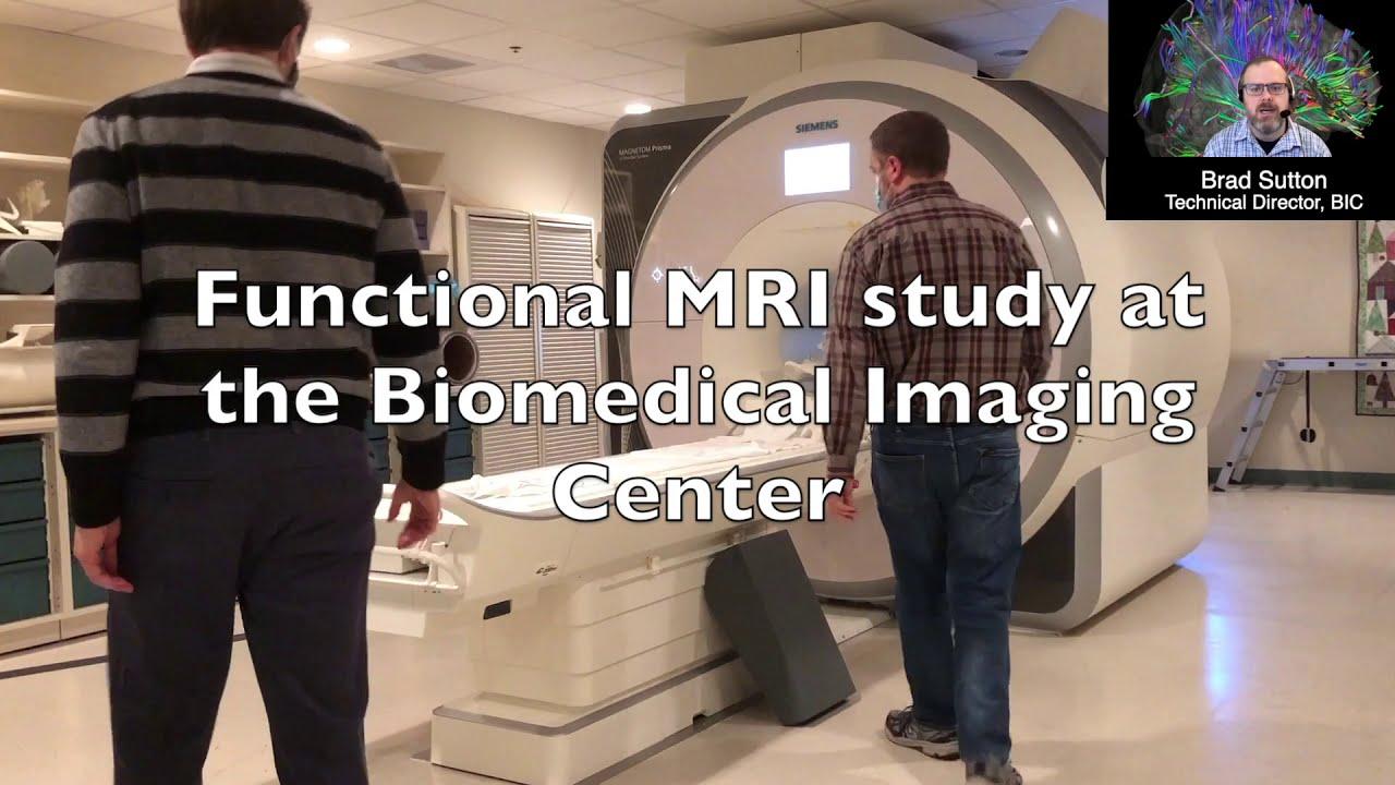 A screenshot from Biomedical Imaging Center: fMRI Demo