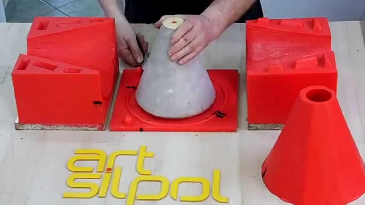 Mold for casting concrete lamp forma na lamp z betonu youtube arubaitofo Gallery